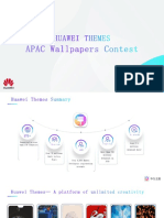 Huawei Themes APAC Wallpaper Contest