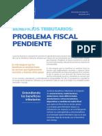 Grupo Justicia Fiscal - Beneficios tributarios problema fiscal pendiente en el Peru
