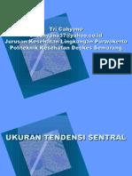 Statistik Ukuran Tendensi Sentral