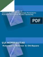 Statistik Uji Normalitas X2 & KS