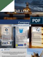 ZAR LYNX COMPANY PROFILE BRIEF