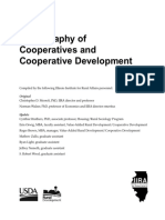 Bibliography of Cooperatives and Cooperative Development - Christopher D. Merrett, PhD et al.