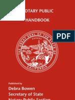 Notary Handbook 2009