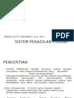 Sistem peradilan pidana Farah.doc