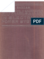 Automation in Electrical Power Systems_A Barzan_First Edition _1977_MIR