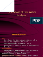 Applications of Free Wilson Analysis