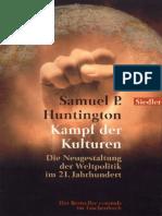 (ebook - german) Samuel P. Huntington - Kampf der Kulturen (1998).pdf
