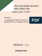 CNSC Module - 1.1