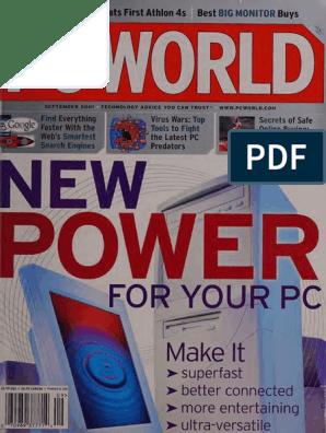 Pcworld199unse Pdf Intel Personal Computers