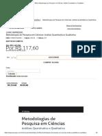 Grupo GEN _ Metodologias de Pesquisa em Ciências_ Análise Quantitativa e Qualitativa