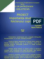 Nunu Raluca-Prezentare proiect curs bibliotecar