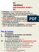 2- Exposé Compréhension orale - Power Point