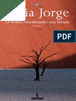 LIDIA JORGE - O vento assobiando nas gruas
