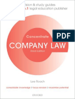 Lee Roach - Company Law Concentrate_ Law Revision and Study Guide (2014, Oxford University Press).pdf