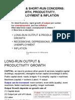 Ch. 18 Growth, Productivity, --