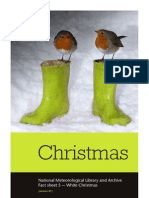 Met Office - White Christmas Fact Sheet