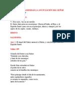 II VÍSPERAS  SOLEMNIDAD LA ANUNCIACIÓN DEL SEÑOR 25032020