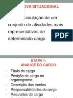 IPUFU31702 (3)(5) – Prova Situacional