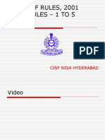 CISF RULES 1 - 5 cbt.ppt