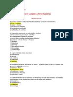ACTITUD FILOSOFICA- PARALELO PACIFICO