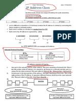 IP Address Class by JD
