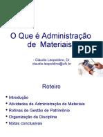 00-Administracao de Materiais