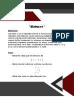Resumen unidad 1 algebra lineal