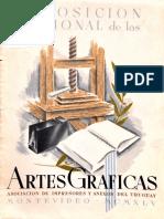 I Exposición Nacional de las Artes Gráficas, Montevideo