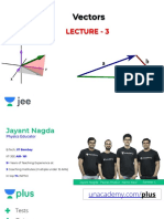 L3VectorsNotes jayant nagda