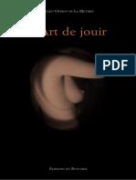 La Mettrie, Julien Offroy de - L'Art de Jouir