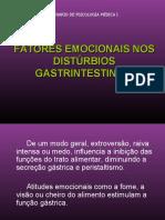 Fator emocional nos Distúrbios Intestinais