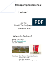 1 Physical Transport Phenomena 2 2019-2020 Lecture 1.pptx