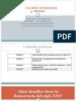 Educacion Ciudadana III Medio Plan Comun Unidad 1