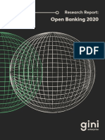 Open Banking 2020 Research Report GiniEnterprise