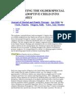Adoption Older,Disabled Children