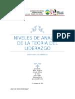 Niveles de Analisis de la Teoria de Liderazgo.docx