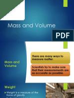 Mass and Volume (PDF)