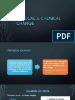 Physical & Chemical Change (PDF)