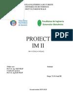 Proiect Inginerie Mecanica 2 Cu Desene