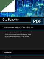 Gas Behavior (PDF)