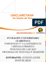PORTAFOLIO N° 1 TEOLOGIA DEL LAICADO