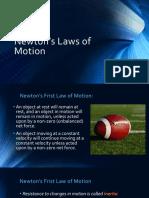Newton's Laws (PDF)