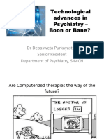 Technological advances in Psychiatry