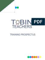 Tobin MusicTraining Prospectus