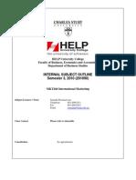 MKT260 Internal Outline