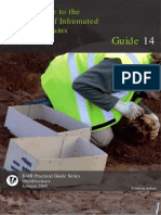 Field Guide to the Excavation of Inhumated Human Remains