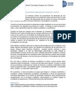 Métodos para pronosticar la demanda de un producto o servicio