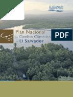 Plan Nacional de Cambio Climático de El Salvador