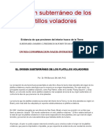EL ORIGEN SUBTERRANEO DE LOS OVNIS- R.BERNARD-J.MARRS-C.FRIEDRICH-M.FORSYT