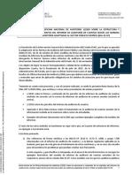 Nota técnica 1-2020 sobre párrafos del informe de auditoría de cuentas